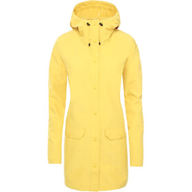 The North Face Woodmont Regenjacke Damen bamboo yellow